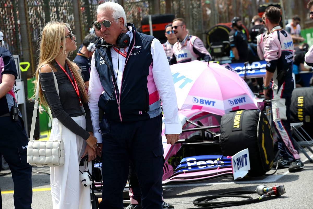 Lawrence Stroll (CDN) Racing Point F1