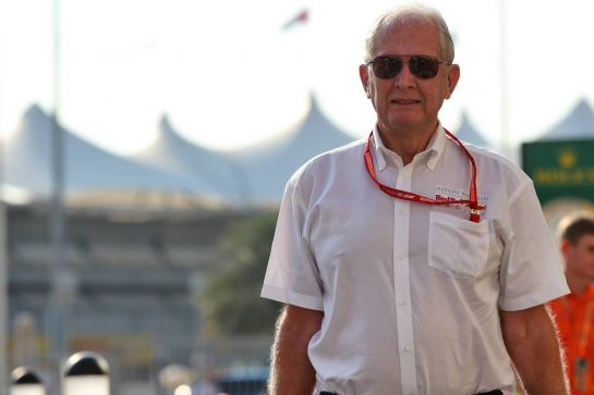 Dr Helmut Marko (AUT) Red Bull Motorsport Consultant. 28.11.2019. Formula 1 World Championship, Rd 21, Abu Dhabi Grand Prix, Yas Marina Circuit, Abu Dhabi, Preparation Day. - www.xpbimages.com, EMail: requests@xpbimages.com © Copyright: Batchelor / XPB Images