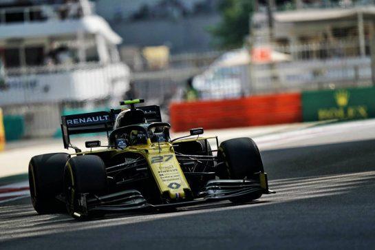 Nico Hulkenberg (GER) Renault F1 Team RS19. 29.11.2019. Formula 1 World Championship, Rd 21, Abu Dhabi Grand Prix, Yas Marina Circuit, Abu Dhabi, Practice Day. - www.xpbimages.com, EMail: requests@xpbimages.com © Copyright: Dungan / XPB Images