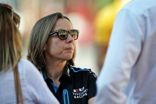 Claire Williams (GBR) Williams Racing Deputy Team Principal. 29.11.2019. Formula 1 World Championship, Rd 21, Abu Dhabi Grand Prix, Yas Marina Circuit, Abu Dhabi, Practice Day. - www.xpbimages.com, EMail: requests@xpbimages.com © Copyright: Dungan / XPB Images