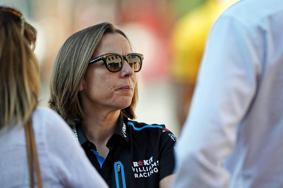 Claire Williams (GBR) Williams Racing Deputy Team Principal. 29.11.2019.