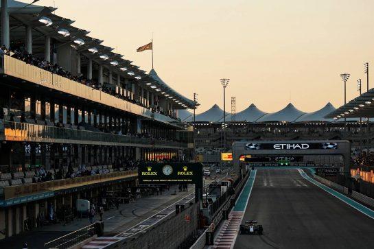 Kimi Raikkonen (FIN) Alfa Romeo Racing C38. 29.11.2019. Formula 1 World Championship, Rd 21, Abu Dhabi Grand Prix, Yas Marina Circuit, Abu Dhabi, Practice Day. - www.xpbimages.com, EMail: requests@xpbimages.com © Copyright: Dungan / XPB Images