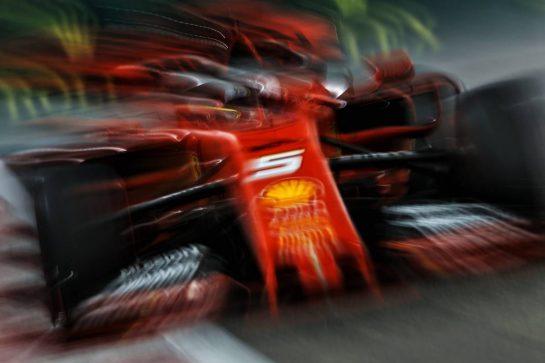 Sebastian Vettel (GER) Ferrari SF90. 29.11.2019. Formula 1 World Championship, Rd 21, Abu Dhabi Grand Prix, Yas Marina Circuit, Abu Dhabi, Practice Day. - www.xpbimages.com, EMail: requests@xpbimages.com © Copyright: Moy / XPB Images