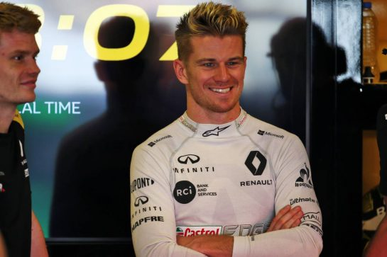 Nico Hulkenberg (GER) Renault F1 Team. 30.11.2019. Formula 1 World Championship, Rd 21, Abu Dhabi Grand Prix, Yas Marina Circuit, Abu Dhabi, Qualifying Day. - www.xpbimages.com, EMail: requests@xpbimages.com © Copyright: Batchelor / XPB Images