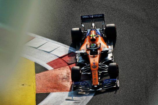 Lando Norris (GBR) McLaren MCL34. 30.11.2019. Formula 1 World Championship, Rd 21, Abu Dhabi Grand Prix, Yas Marina Circuit, Abu Dhabi, Qualifying Day.  - www.xpbimages.com, EMail: requests@xpbimages.com © Copyright: Dungan / XPB Images