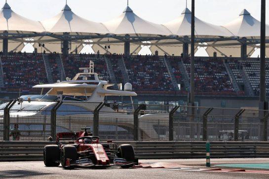 Sebastian Vettel (GER) Ferrari SF90. 30.11.2019. Formula 1 World Championship, Rd 21, Abu Dhabi Grand Prix, Yas Marina Circuit, Abu Dhabi, Qualifying Day. - www.xpbimages.com, EMail: requests@xpbimages.com © Copyright: Moy / XPB Images