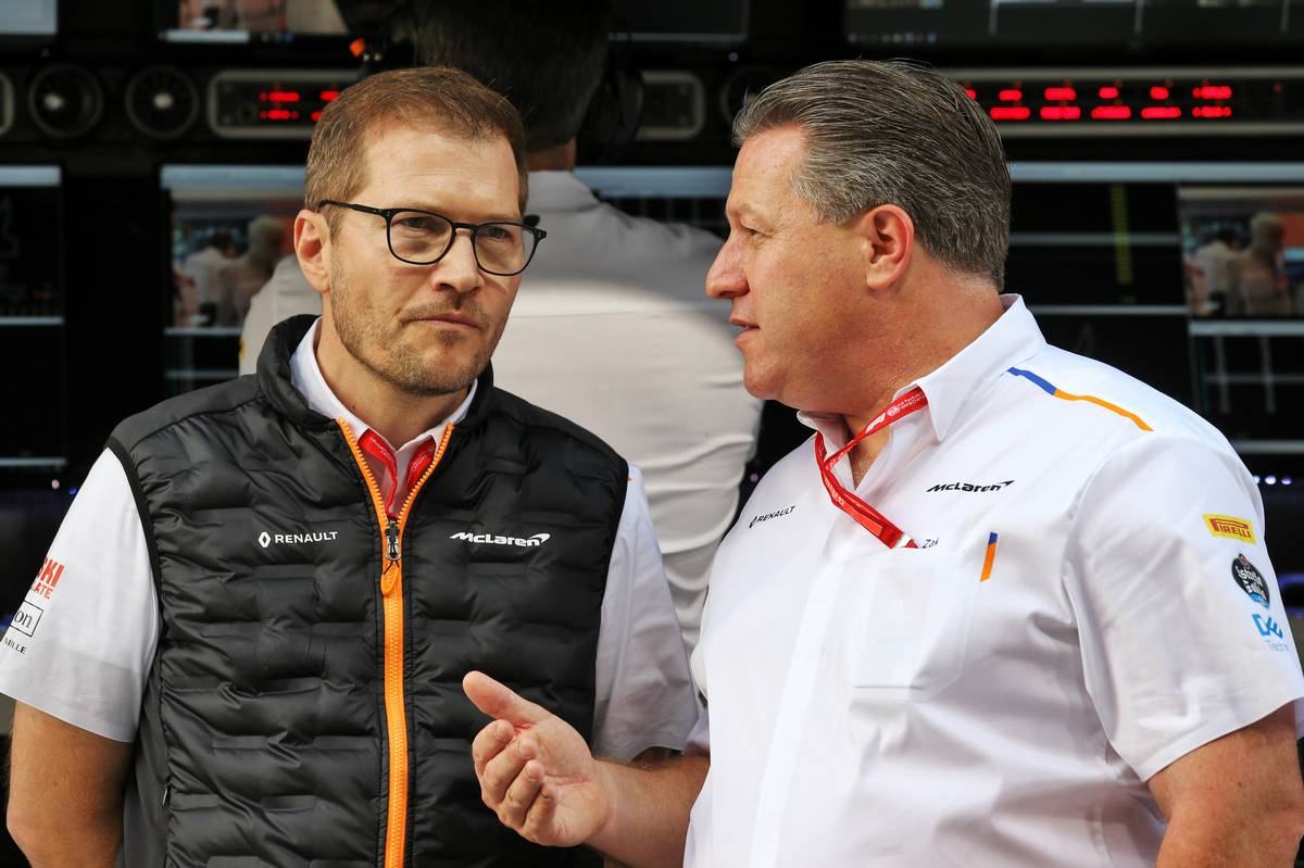 Brown says Seidl is 'the best team boss in the pitlane'