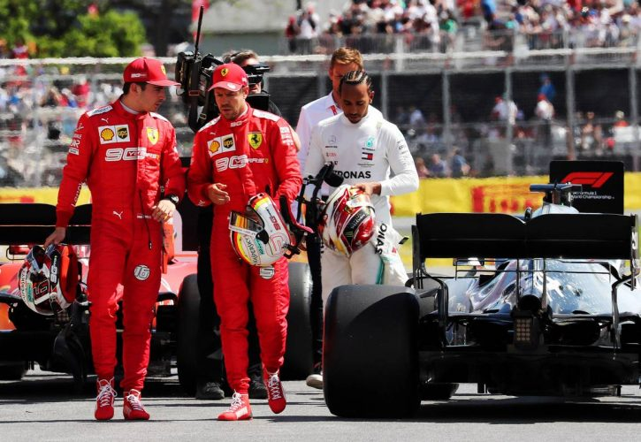 F1: Ross Brawn: Ferrari drivers should follow Hamilton's example