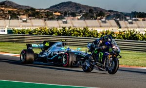 Video: A first look at the Hamilton-Rossi ride swap
