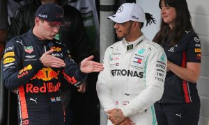Hamilton: Everyone chasing a seat at Mercedes, including Verstappen