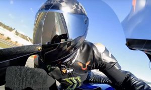 Video: Hamilton and Rossi's onboard hot laps at Valencia