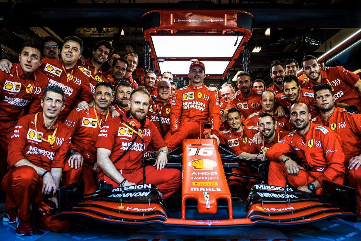 F1i Team Reviews For 2019 Ferrari
