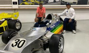 Fittipaldi brothers gather around first family car