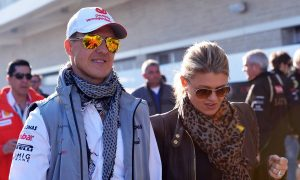 Corinna Schumacher hints at husband's progress in message of hope