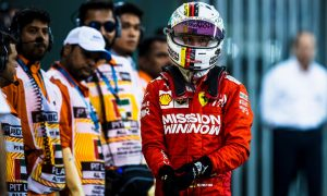 Vettel admits 'it wasn't a great year from my side'