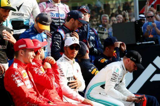 Lewis Hamilton (GBR) Mercedes AMG F1 W10.01.12.2019. Formula 1 World Championship, Rd 21, Abu Dhabi Grand Prix, Yas Marina Circuit, Abu Dhabi, Race Day.- www.xpbimages.com, EMail: requests@xpbimages.com © Copyright: Batchelor / XPB Images