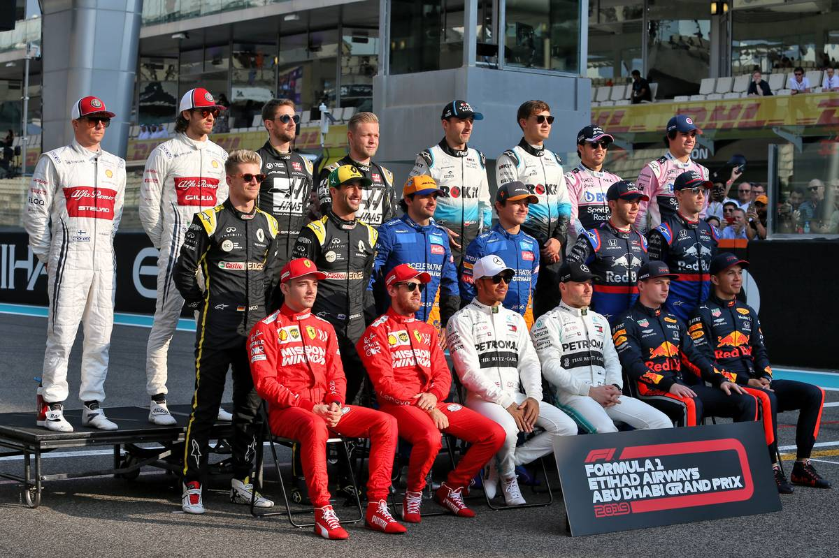 Drivers end of season photograph. 01.12.2019