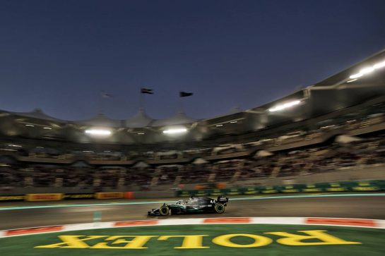 Lewis Hamilton (GBR) Mercedes AMG F1 W10. 01.12.2019. Formula 1 World Championship, Rd 21, Abu Dhabi Grand Prix, Yas Marina Circuit, Abu Dhabi, Race Day.  - www.xpbimages.com, EMail: requests@xpbimages.com © Copyright: Dungan / XPB Images