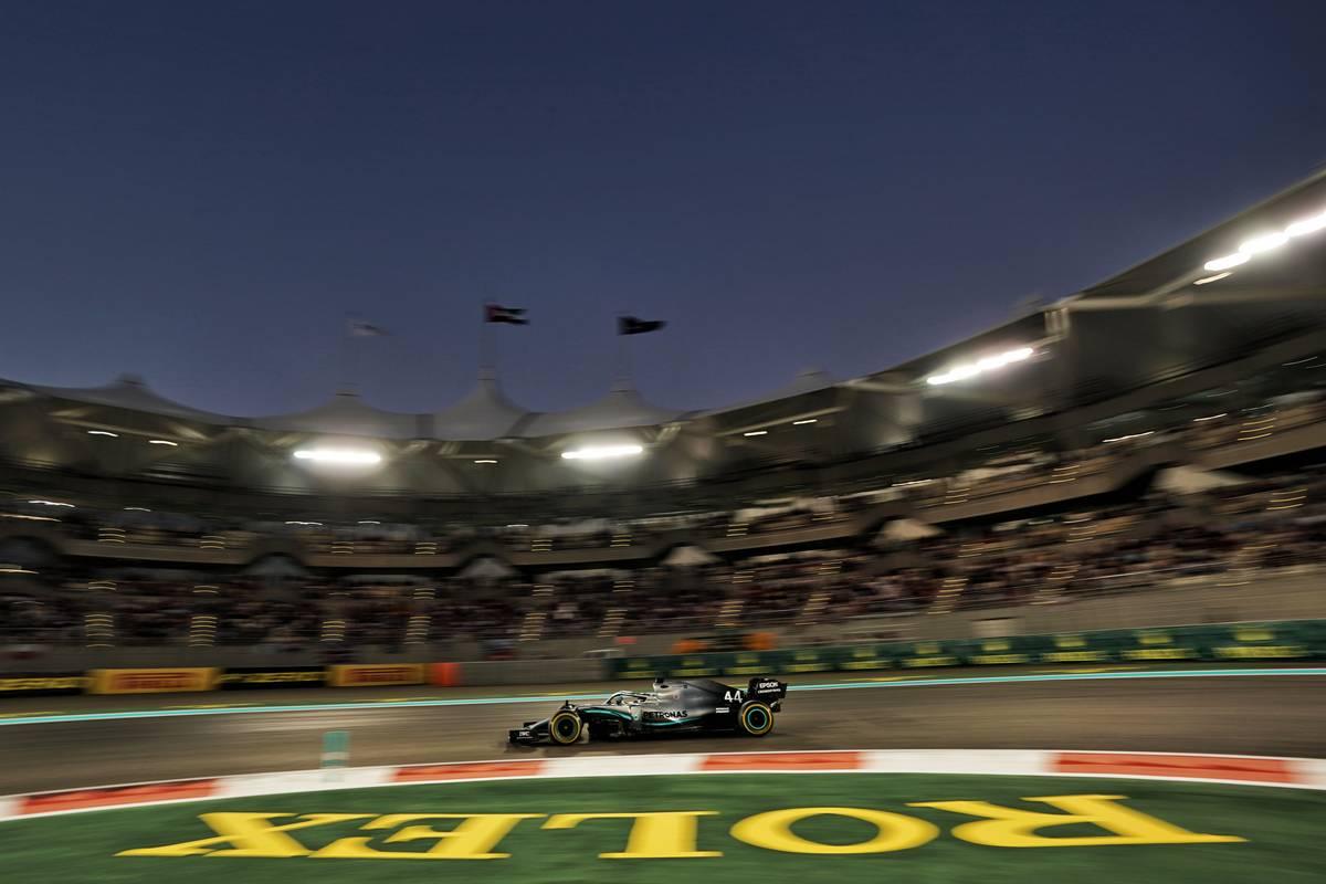 Lewis Hamilton (GBR) Mercedes AMG F1 W10. 01.12.2019.