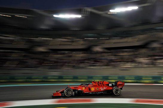 Charles Leclerc (MON) Ferrari SF90. 01.12.2019. Formula 1 World Championship, Rd 21, Abu Dhabi Grand Prix, Yas Marina Circuit, Abu Dhabi, Race Day.  - www.xpbimages.com, EMail: requests@xpbimages.com © Copyright: Dungan / XPB Images