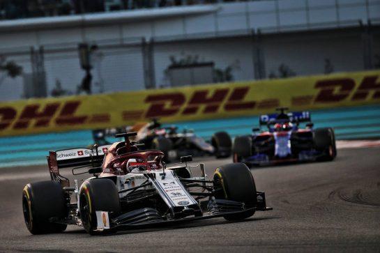Kimi Raikkonen (FIN) Alfa Romeo Racing C38. 01.12.2019. Formula 1 World Championship, Rd 21, Abu Dhabi Grand Prix, Yas Marina Circuit, Abu Dhabi, Race Day. - www.xpbimages.com, EMail: requests@xpbimages.com © Copyright: Batchelor / XPB Images
