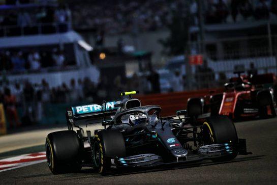 Valtteri Bottas (FIN) Mercedes AMG F1 W10. 01.12.2019. Formula 1 World Championship, Rd 21, Abu Dhabi Grand Prix, Yas Marina Circuit, Abu Dhabi, Race Day. - www.xpbimages.com, EMail: requests@xpbimages.com © Copyright: Batchelor / XPB Images