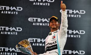 Hamilton signs off season with big win in Abu Dhabi