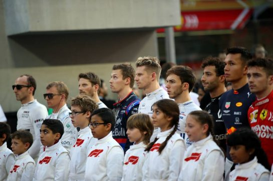 Nico Hulkenberg (GER) Renault Sport F1 Team RS19.01.12.2019. Formula 1 World Championship, Rd 21, Abu Dhabi Grand Prix, Yas Marina Circuit, Abu Dhabi, Race Day.- www.xpbimages.com, EMail: requests@xpbimages.com © Copyright: Batchelor / XPB Images