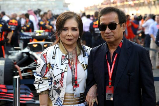 Chalerm Yoovidhya (THA) Red Bull Racing Co-Owner.