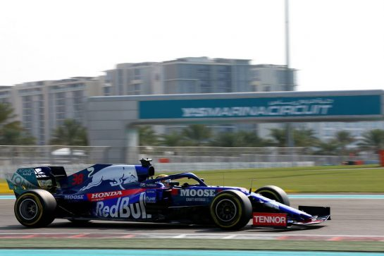 Sean Gelael (IDN) Scuderia Toro Rosso STR14 Test Driver. 