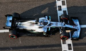 Bottas on top after first day of post-season test