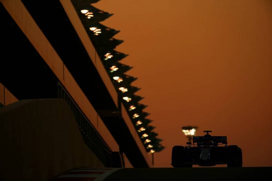 Daniil Kvyat (RUS) Scuderia Toro Rosso STR14.03.12.2019. Formula 1 Testing, Yas Marina Circuit, Abu Dhabi, Tuesday. - www.xpbimages.com, EMail: requests@xpbimages.com © Copyright: Batchelor / XPB Images