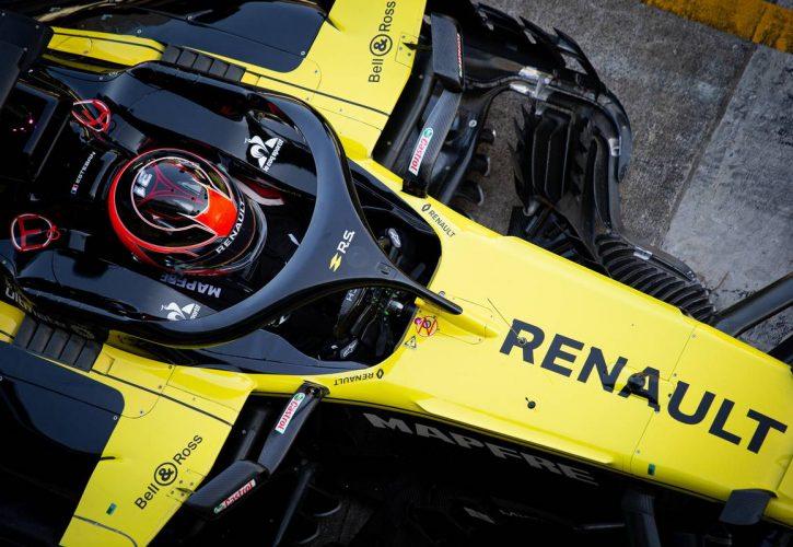 Esteban Ocon (FRA) Renault F1 Team RS19.