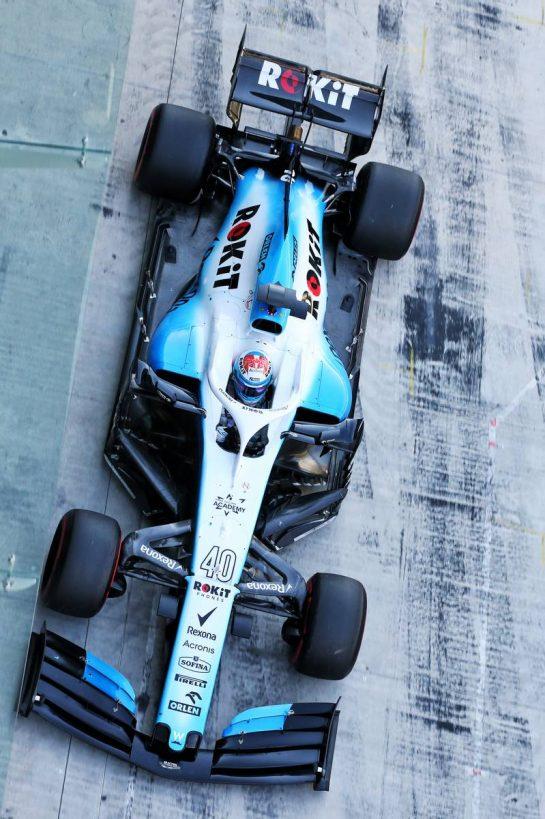 Nicholas Latifi (CDN) Williams Racing FW42. 04.12.2019. Formula 1 Testing, Yas Marina Circuit, Abu Dhabi, Wednesday. - www.xpbimages.com, EMail: requests@xpbimages.com © Copyright: Batchelor / XPB Images