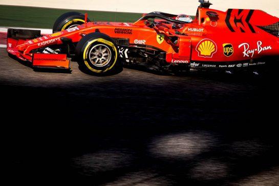 Charles Leclerc (MON) Ferrari SF90. 04.12.2019. Formula 1 Testing, Yas Marina Circuit, Abu Dhabi, Wednesday.  - www.xpbimages.com, EMail: requests@xpbimages.com © Copyright: Bearne / XPB Images