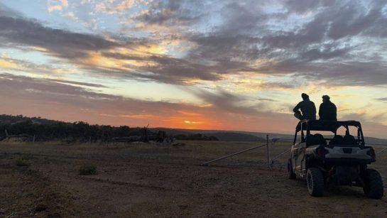 Daniel Ricciardo the Aussie outback
