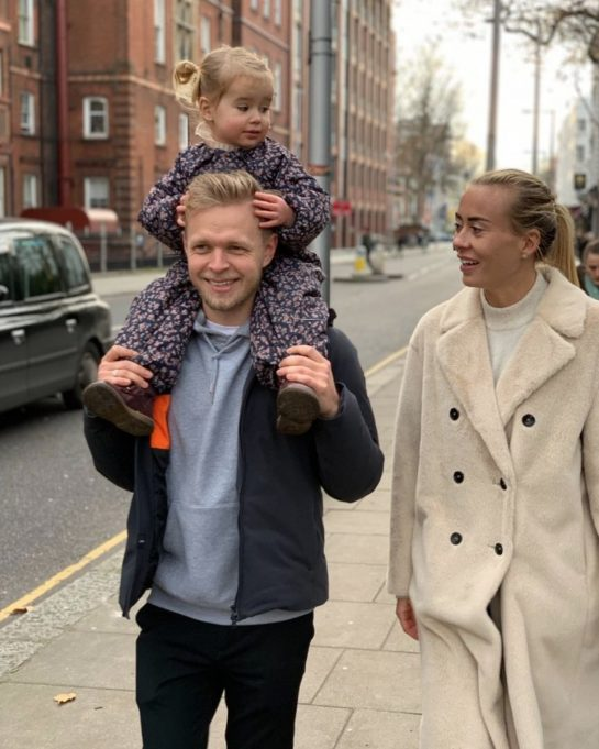 Kevin and Louise Magnussen