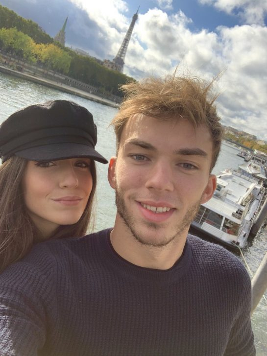 Pierre Gasly and Caterina