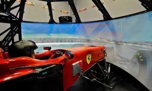 New Ferrari simulator won't be available until next spring