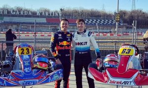 Albon and Russell karting their way into the pre-season