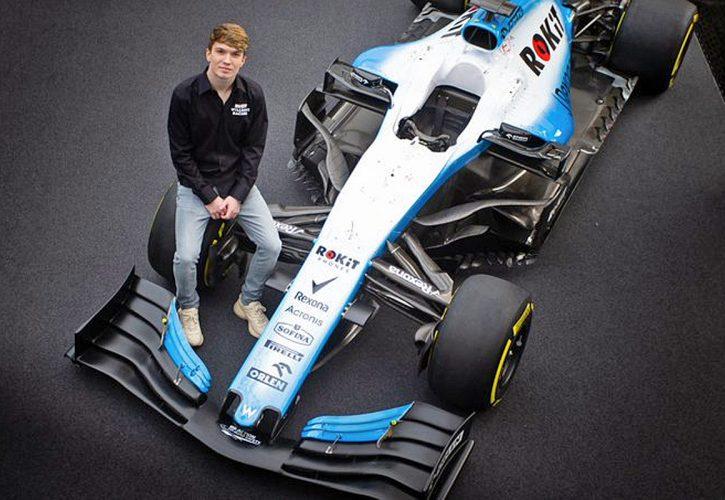 Williams F1 2020 development driver Dan Ticktum