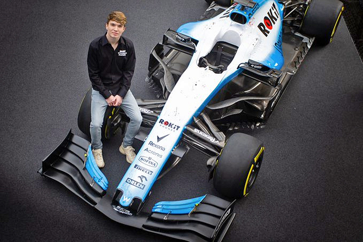 Williams F1 2020 development driver Dan Ticktum