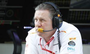 Brown expecting McLaren's future progress to 'get harder'
