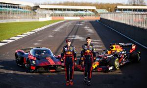 Verstappen and Albon speed the Valkyrie around Silverstone