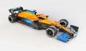 McLaren goes for striking matte livery on MCL35!
