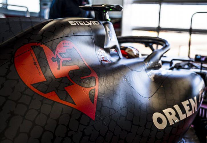 New Alfa Romeo F1 vehicle breaks cover at Fiorano