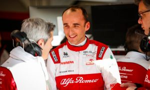 Pacesetter Kubica had to 'adjust' to Alfa downforce gains