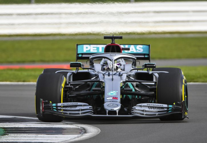 Lewis Hamilton's Mercedes team unveil new vehicle