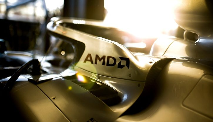 Mercedes F1 team signs innovation-focused deal with AMD