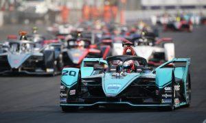 Jaguar's Evans dominates chaotic Mexico City E-Prix
